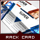 Corporate Rack Card - Power Triangle - GraphicRiver Item for Sale