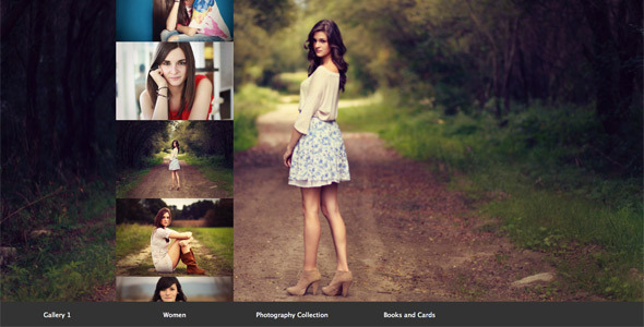 jQuery Fullscreen Scroll Gallery nulled free download