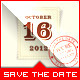 Wedding - Save the Date - Stamp - GraphicRiver Item for Sale