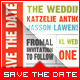 Wedding - Save The Date - Ticket - GraphicRiver Item for Sale