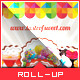 Corporate Roll-up Banner - Sweet Shop - GraphicRiver Item for Sale