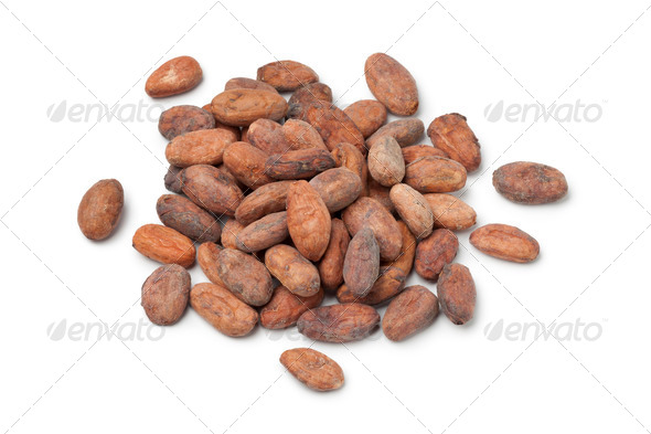 Cocao beans - Stock Photo - Images