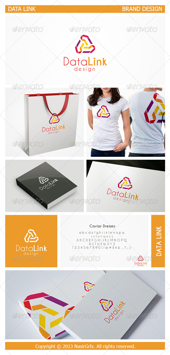 Vector Link Logo - Vector Abstract