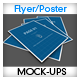 Flyer Poster Mockups vol 01 - GraphicRiver Item for Sale