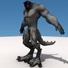 Monster wireframe render1.  thumbnail