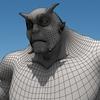Monster wireframe render2.  thumbnail