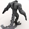 Monster wireframe render3.  thumbnail