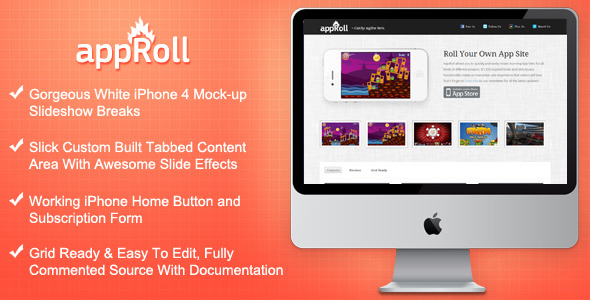 Free Download AppRoll - Roll Your Own App Site Nulled Latest Version