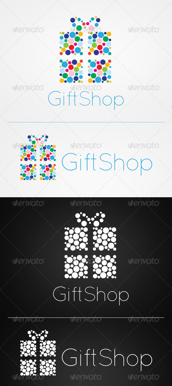 Gift Shop Logo - Symbols Logo Templates