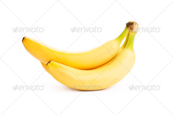 banana isolated - Stock Photo - Images