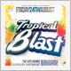 Tropical Blast Party Flyer - GraphicRiver Item for Sale