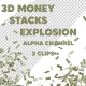 Money Stacks Explosion - VideoHive Item for Sale