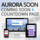 Aurora Soon - Coming Soon / Countdown Page Nulled