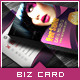 Corporate Business Card - Beauty Salon - GraphicRiver Item for Sale