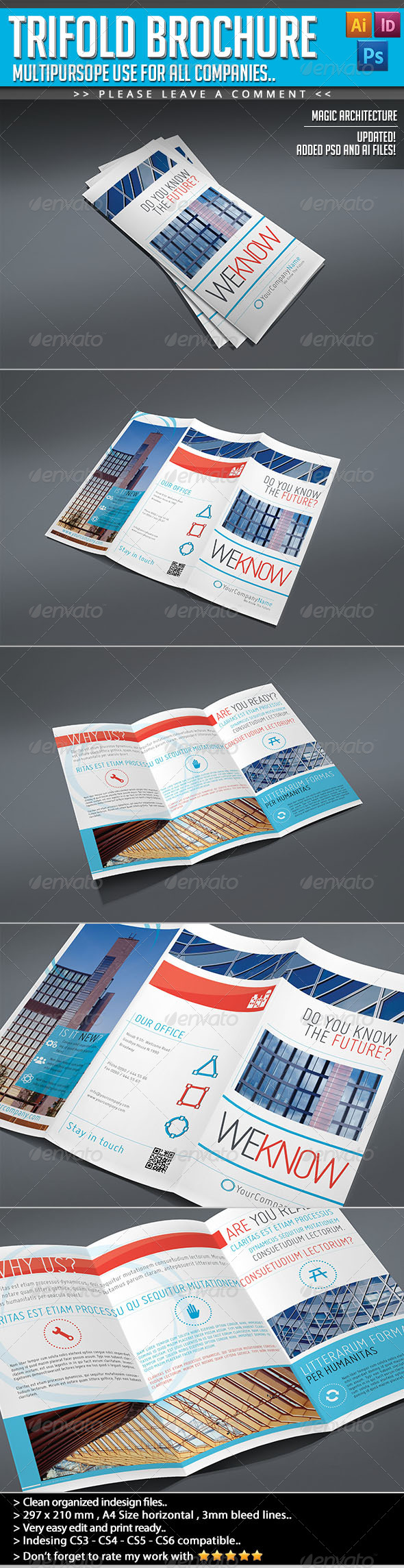 Trifold Brochure - The Magic of Architecture - Informational Brochures