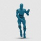 Bot Man with Dancing - VideoHive Item for Sale