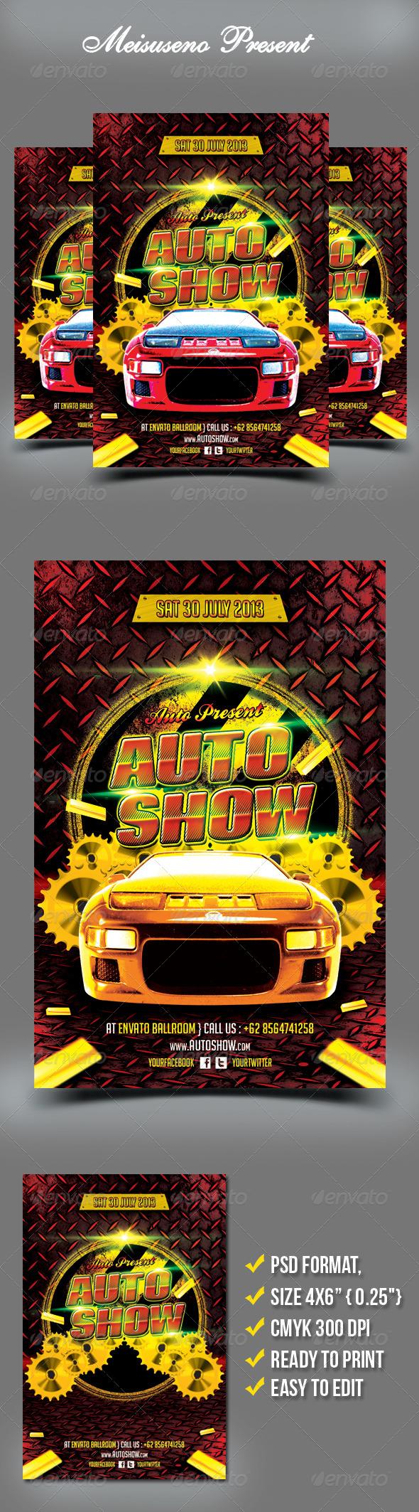 Auto Show Flyer - Miscellaneous Events