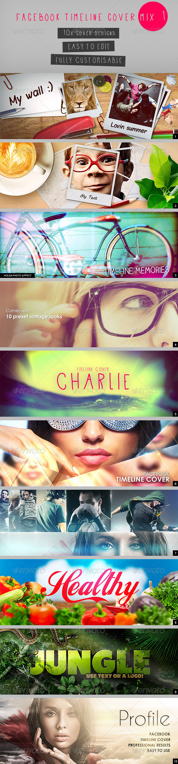 Facebook Timeline Cover Mix 1 - Facebook Timeline Covers Social Media