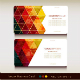 Set of Abstract Geometric Business Card - GraphicRiver Item for Sale