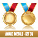 Award Medals Template - GraphicRiver Item for Sale