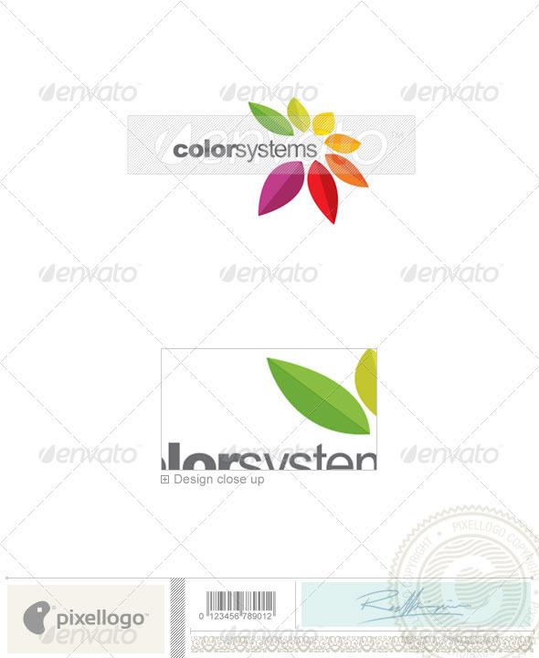 Printing Logo - 2264 - Nature Logo Templates