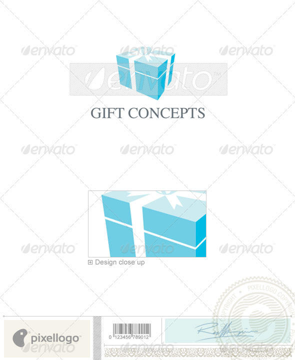 Gift Logo - 416 - Objects Logo Templates