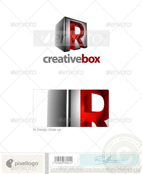 R Logo - 3D-554-R - Letters Logo Templates