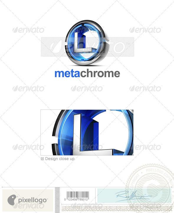 L Logo - 3D-476-L - Letters Logo Templates