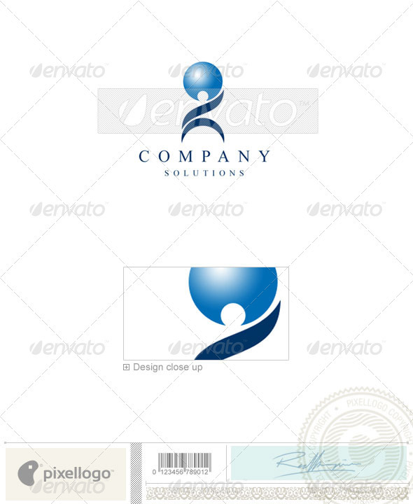 Business & Finance Logo - 1072 - Vector Abstract