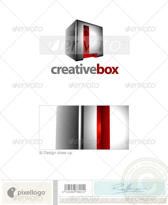 L Logo - 3D-554-L - Letters Logo Templates