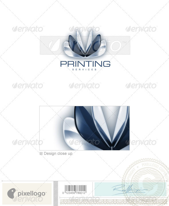 Print & Design Logo - 3D-87 - 3d Abstract