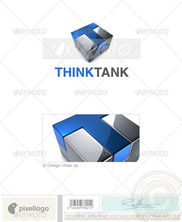 Technology Logo - 3D-695 - 3d Abstract