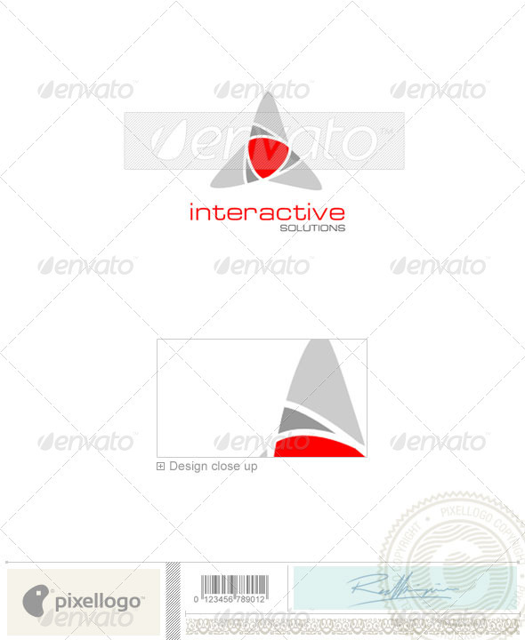 Technology Logo - 1011 - Vector Abstract