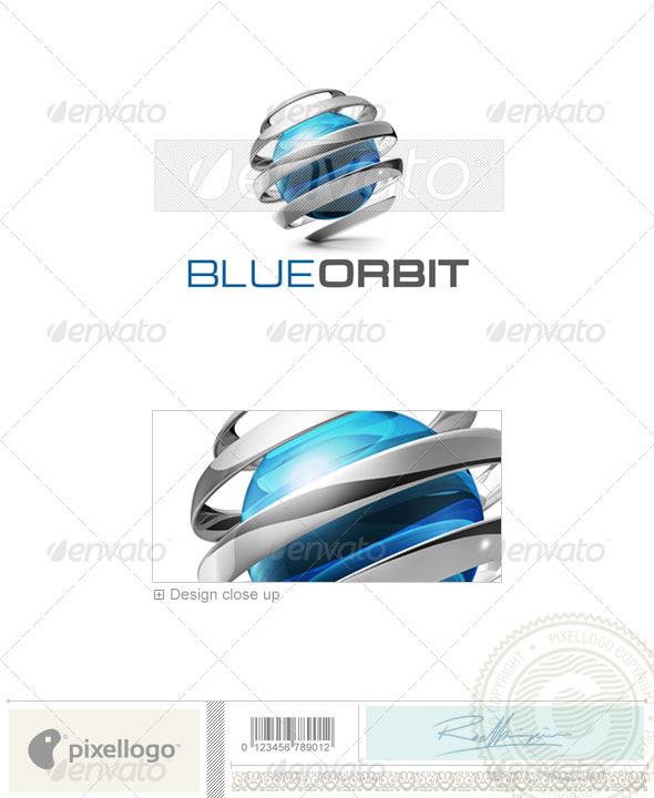 Communications Logo - 3D-596 - 3d Abstract