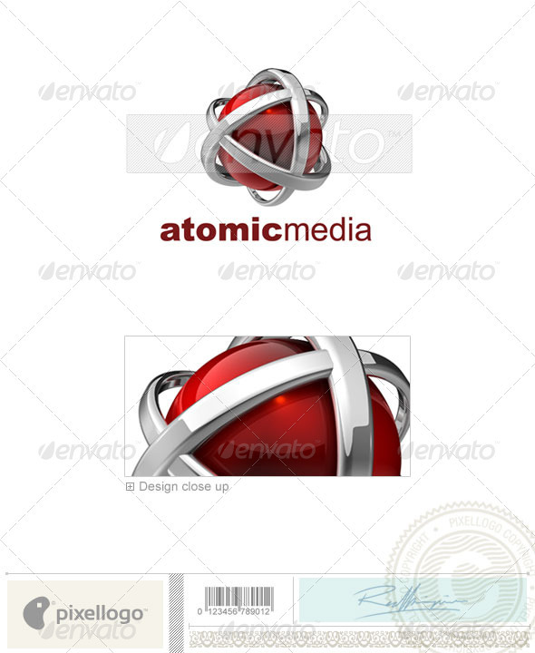 Technology Logo - 3D-546 - 3d Abstract