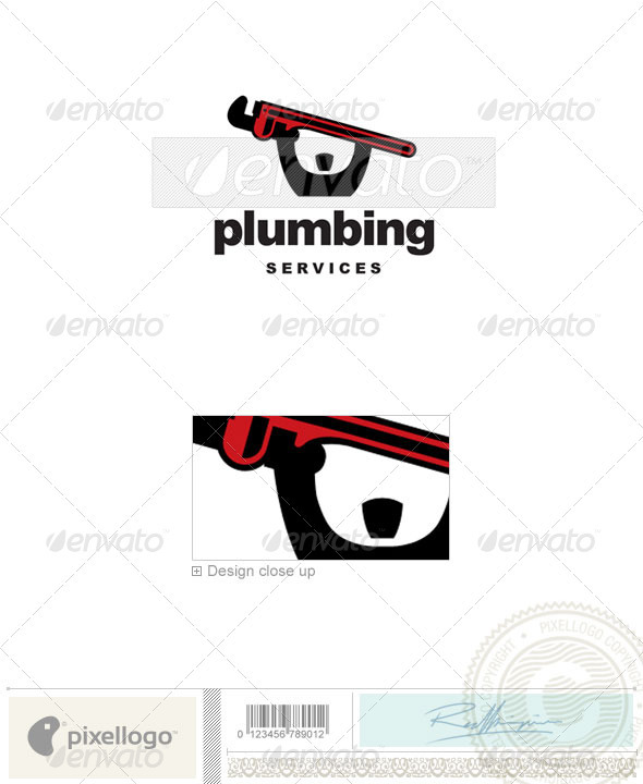 Plumbing Logo - 2263 - Humans Logo Templates