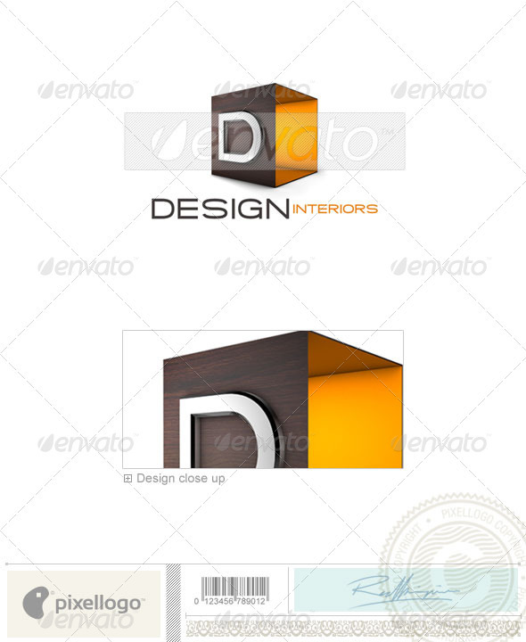 Architecture Logo - 3D-694 - 3d Abstract