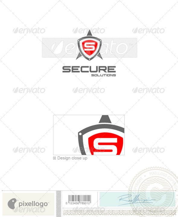 Business & Finance Logo - 802 - Crests Logo Templates