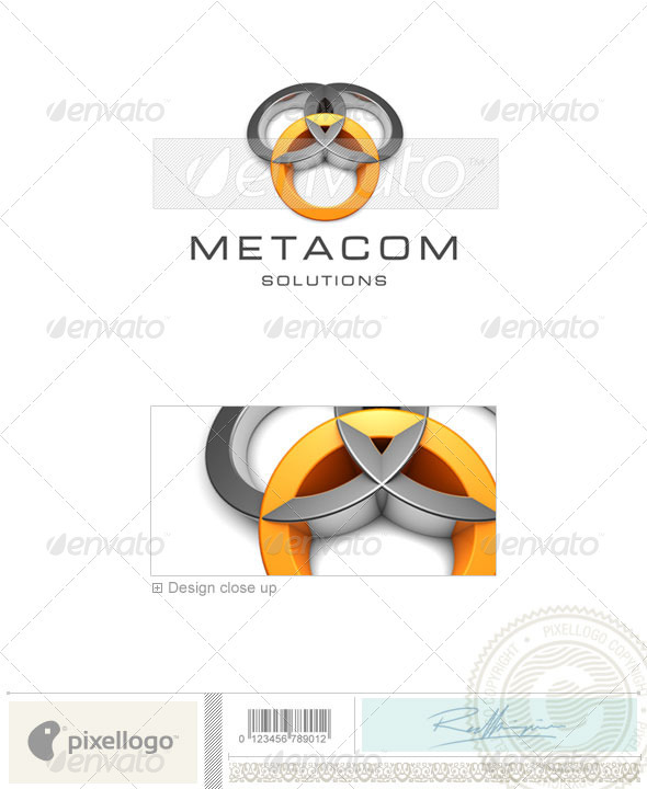Technology Logo - 3D-409 - 3d Abstract