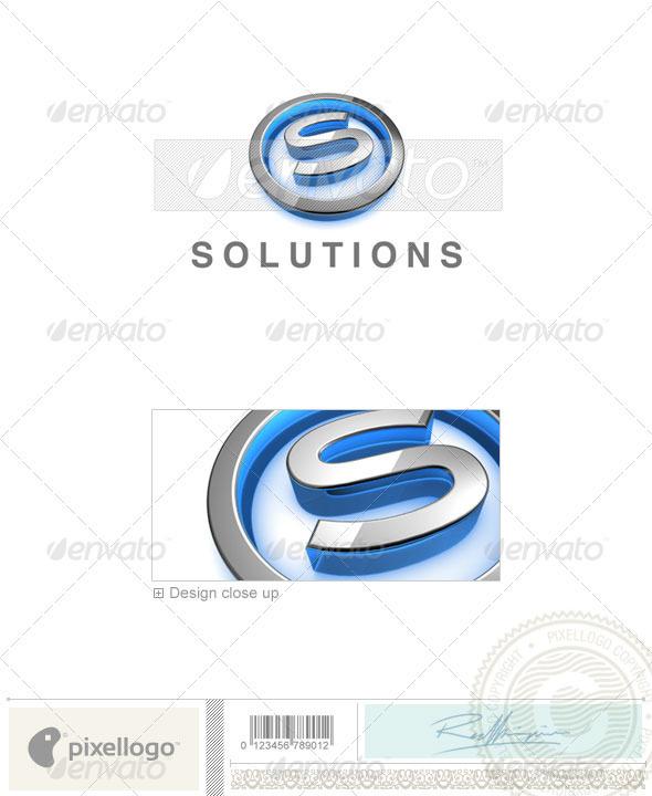S Logo - 3D-683-S - Letters Logo Templates