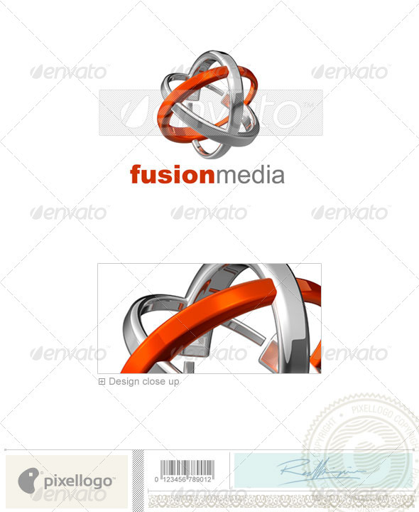 Technology Logo - 3D-550 - 3d Abstract