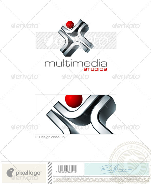 Activities & Leisure Logo - 3D-543 - 3d Abstract