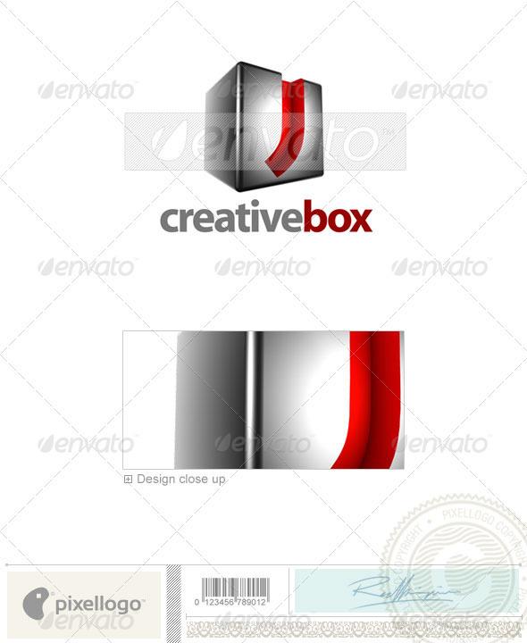 J Logo - 3D-554-J - Letters Logo Templates