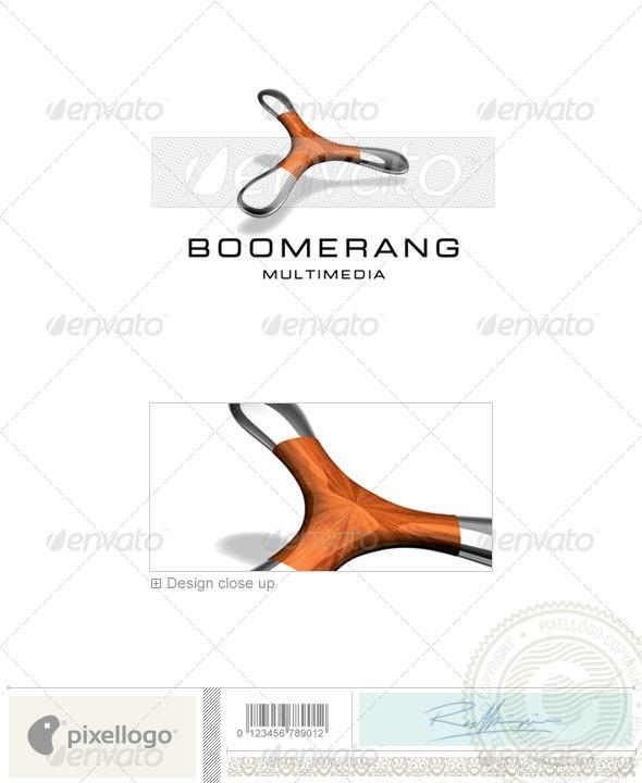 Technology Logo - 3D-548 - Objects Logo Templates