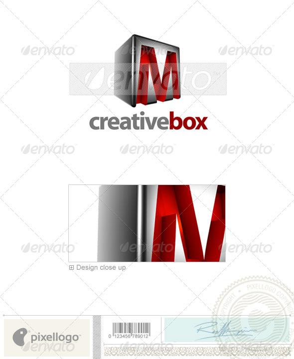 M Logo - 3D-554-M - Letters Logo Templates
