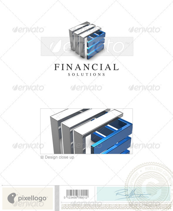 Business & Finance Logo - 3D-551 - 3d Abstract
