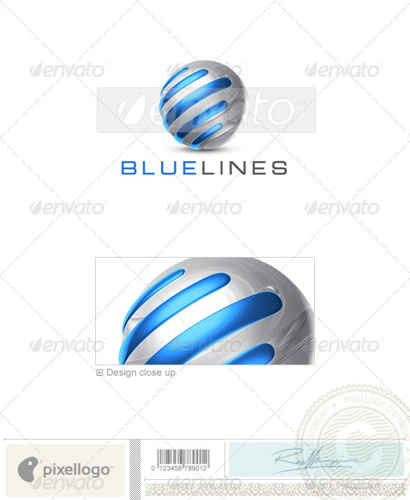 Technology Logo - 3D-706 - Symbols Logo Templates