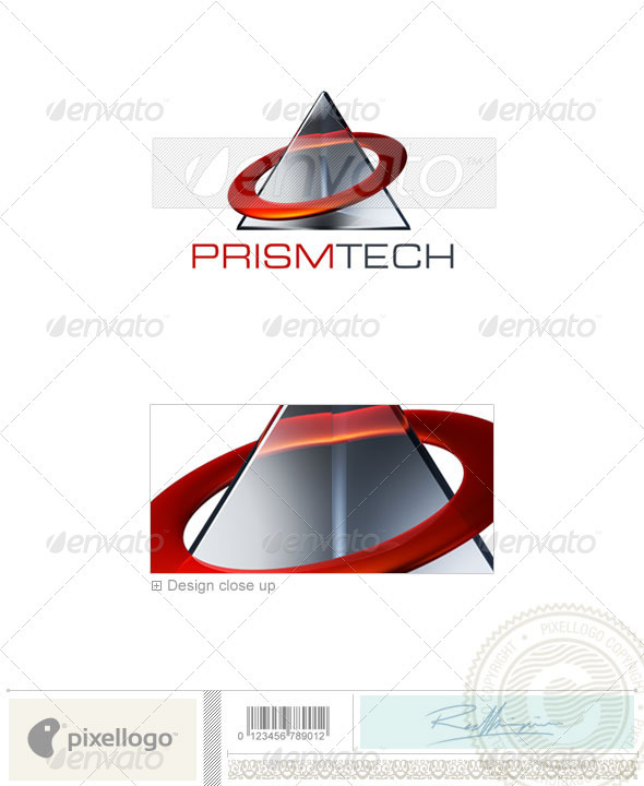 Technology Logo - 3D-492 - 3d Abstract