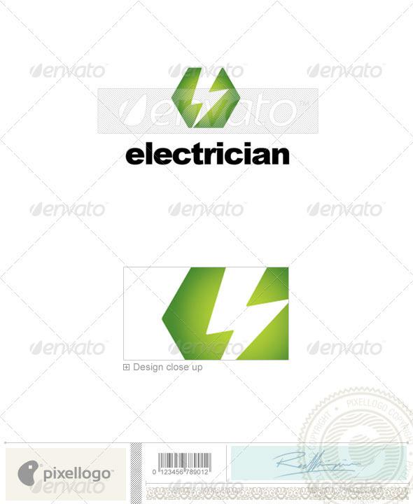 Electric & Construction Logo - 2255 - Symbols Logo Templates