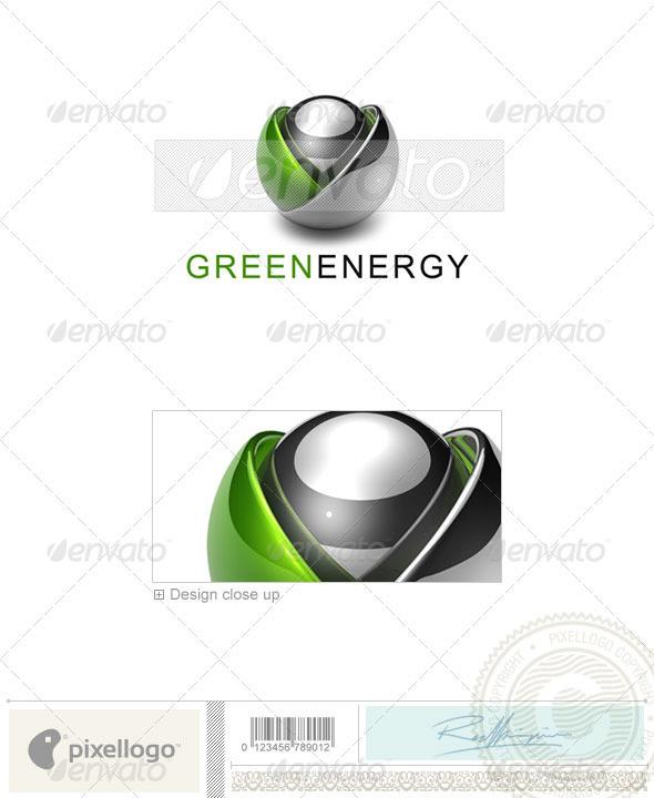 Technology Logo - 3D-593 - 3d Abstract